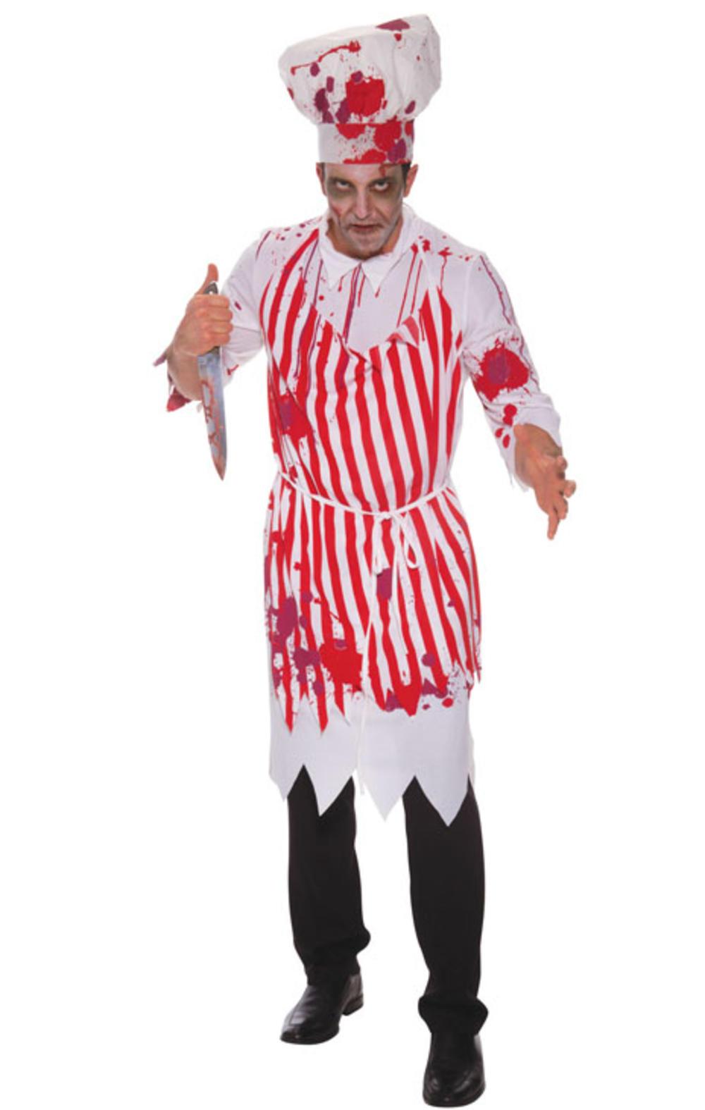 Bloody Butcher Mens Costume