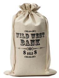 Money Bag Costume Western Accessory