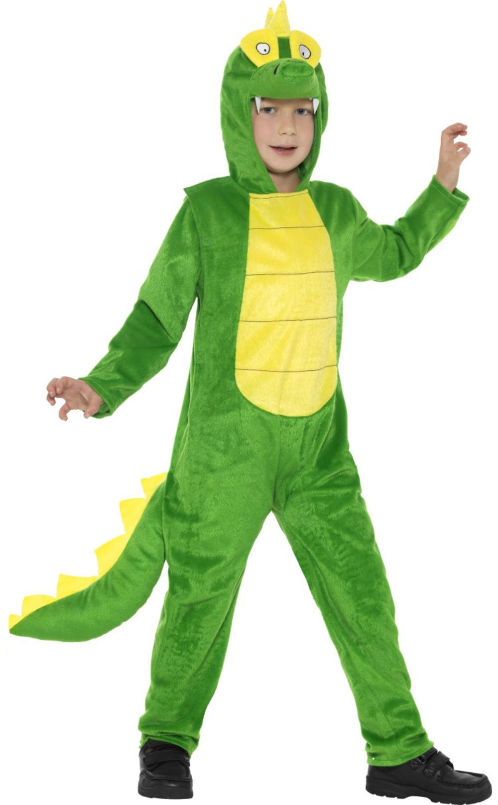 Crocodile Kids Fancy Dress Alligator Animal Roald Dahl Book Day Childs Costume