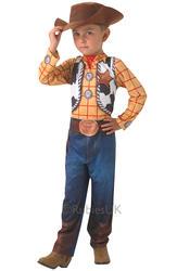 Toy Story Woody + Hat Kids Fancy Dress Disney Western Cowboy Kids Childs Costume
