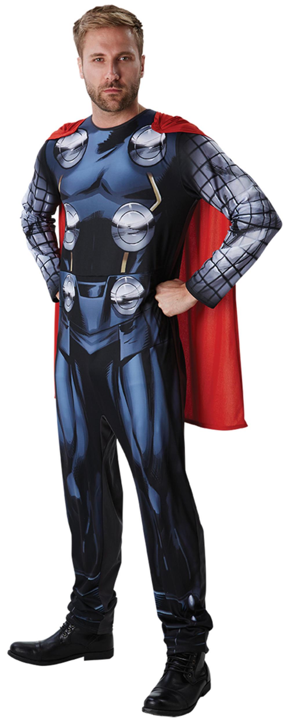 Classic Thor Mens Fancy Dress Avengers Assemble Comic Superhero Adults Costume