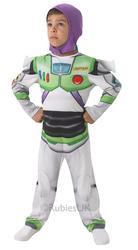 Buzz Lightyear Boys Fancy Dress Disney Toy Story Kids Childrens Costume Outfit
