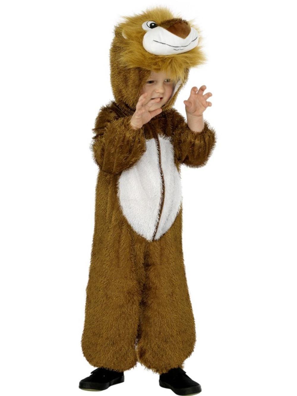Jungle Lion Kids Fancy Dress Animal Book Week Zoo Boys Girls Childrens Costume