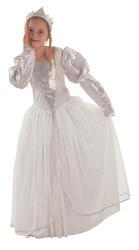 Princess Fairytale Girls Fancy Dress Kids Bride Childrens Book Costume Outfit