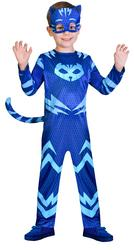 Catboy Boys Fancy Dress PJ Masks Superhero Animal Cartoon Kids Childrens Costume