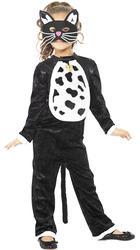 Cat Girls Fancy Dress Childrens Animal Book Character Kids Halloween Costume New