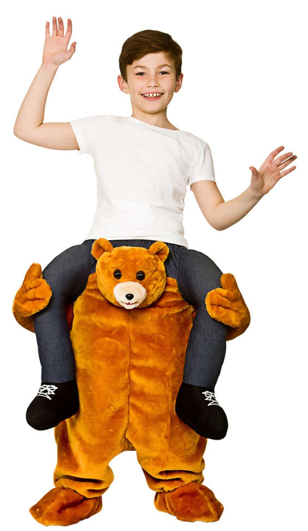 Carry Me Teddy Kid's Costume