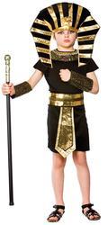 Egyptian Pharaoh Boys Fancy Dress Historical Ancient Egypt Kids Book Day Costume