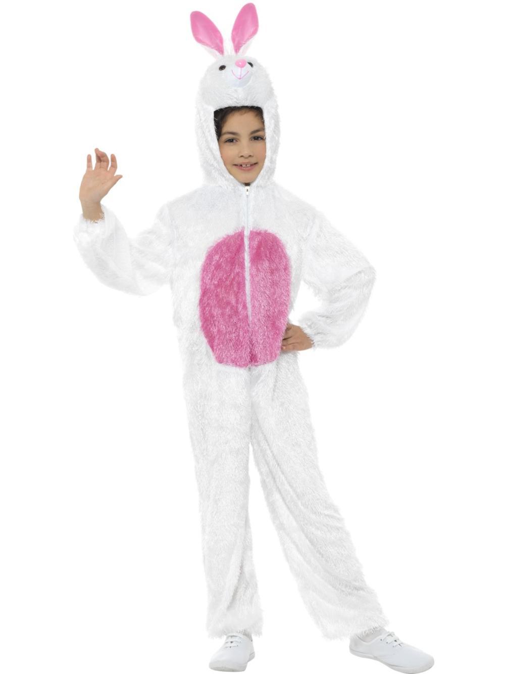 Easter Bunny Rabbit Kids Fancy Dress Fairytale Book Day Boys Girls Child Costume