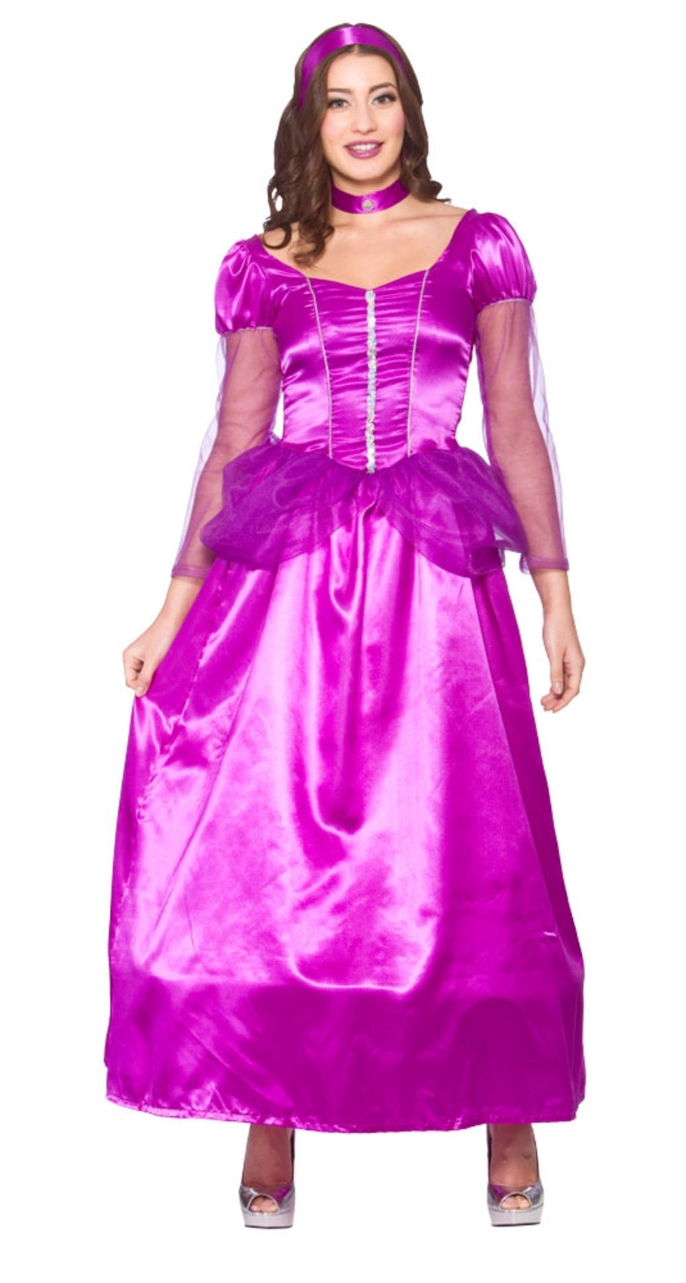 Sweet Princess Ladies Fancy Dress Story Book Fairy Tale Womens Adults Costume