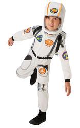 Astronaut Kids Fancy Dress Space Man Suit NASA Uniform Boys Girls Childs Costume