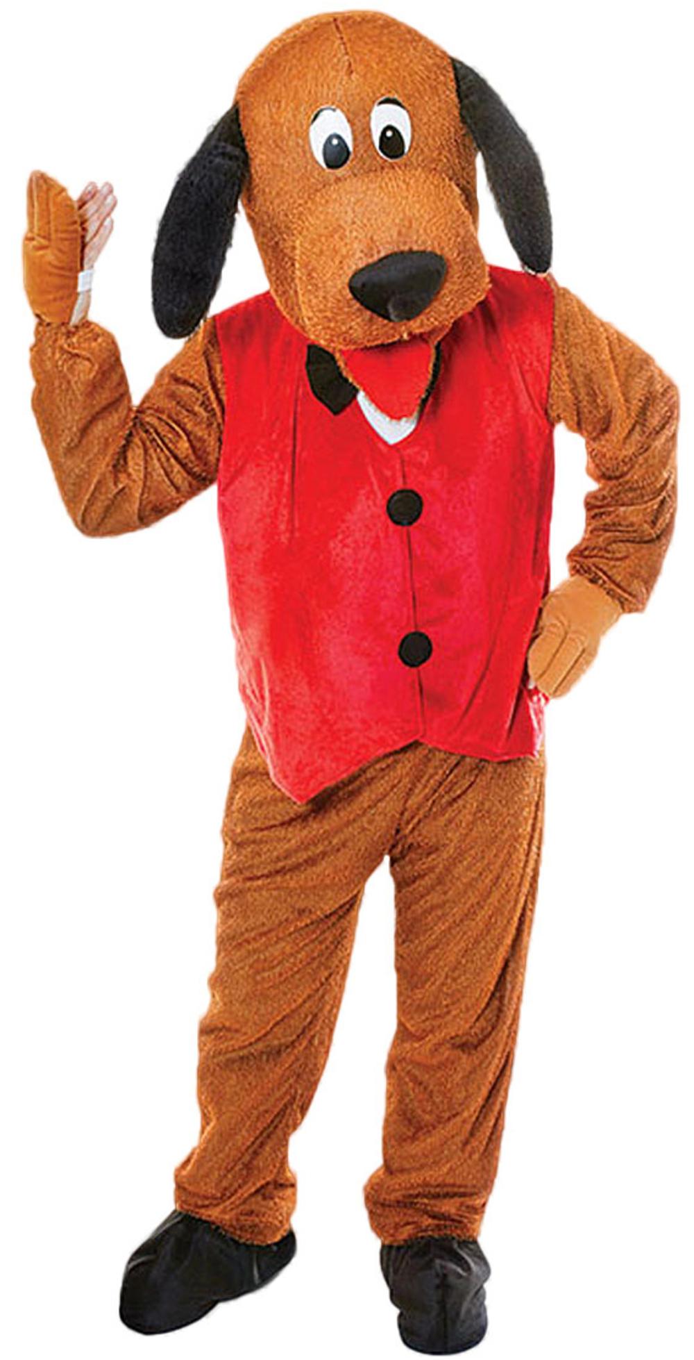 Big Head Dog Mascot Costume