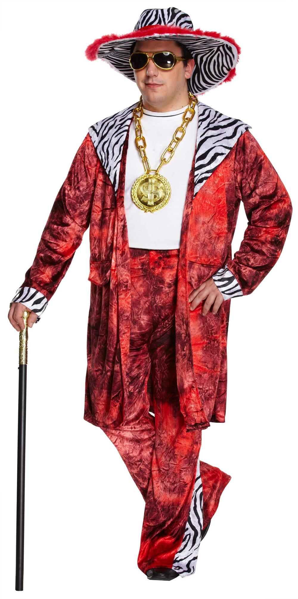 Big Daddy Red Adult's Costume