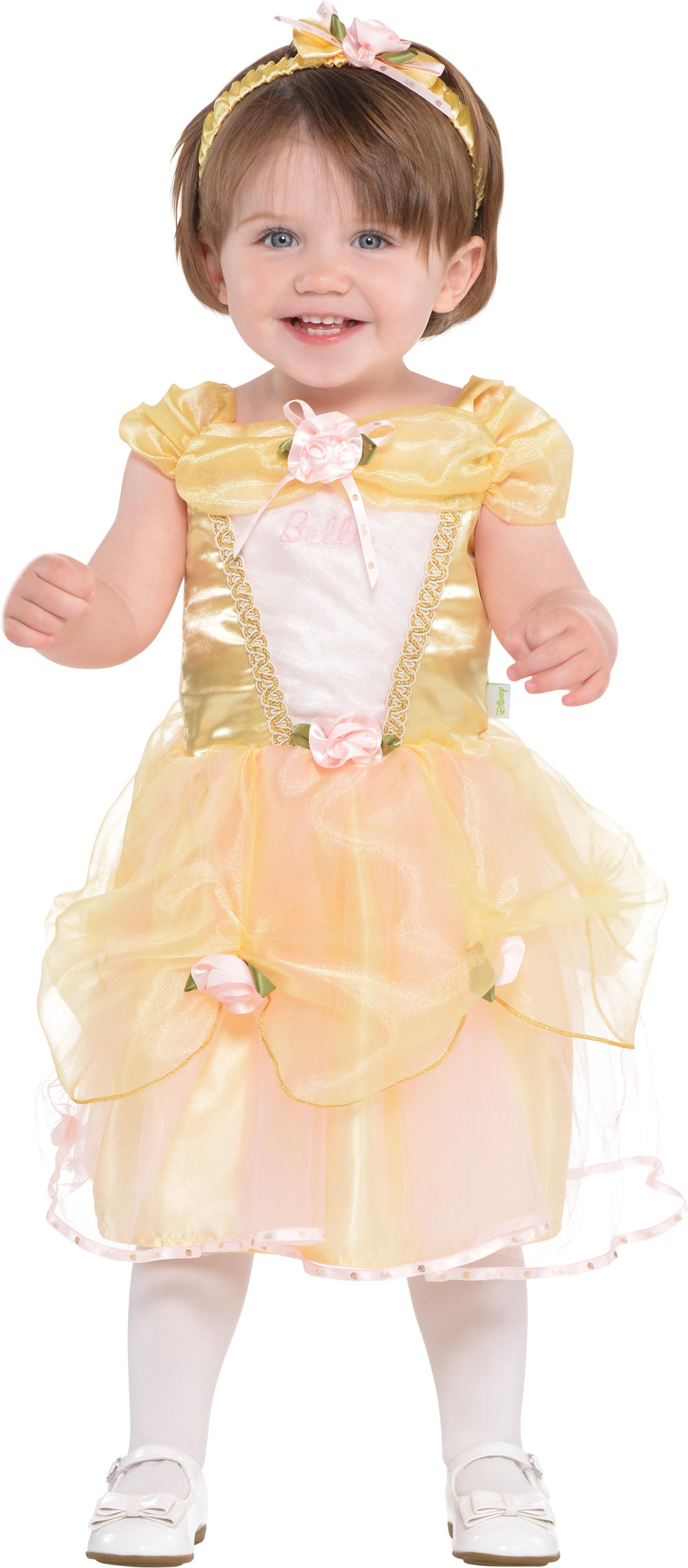 Belle 3-24 Months Fancy Dress Disney Princess Beauty Babies Girls Infant Costume