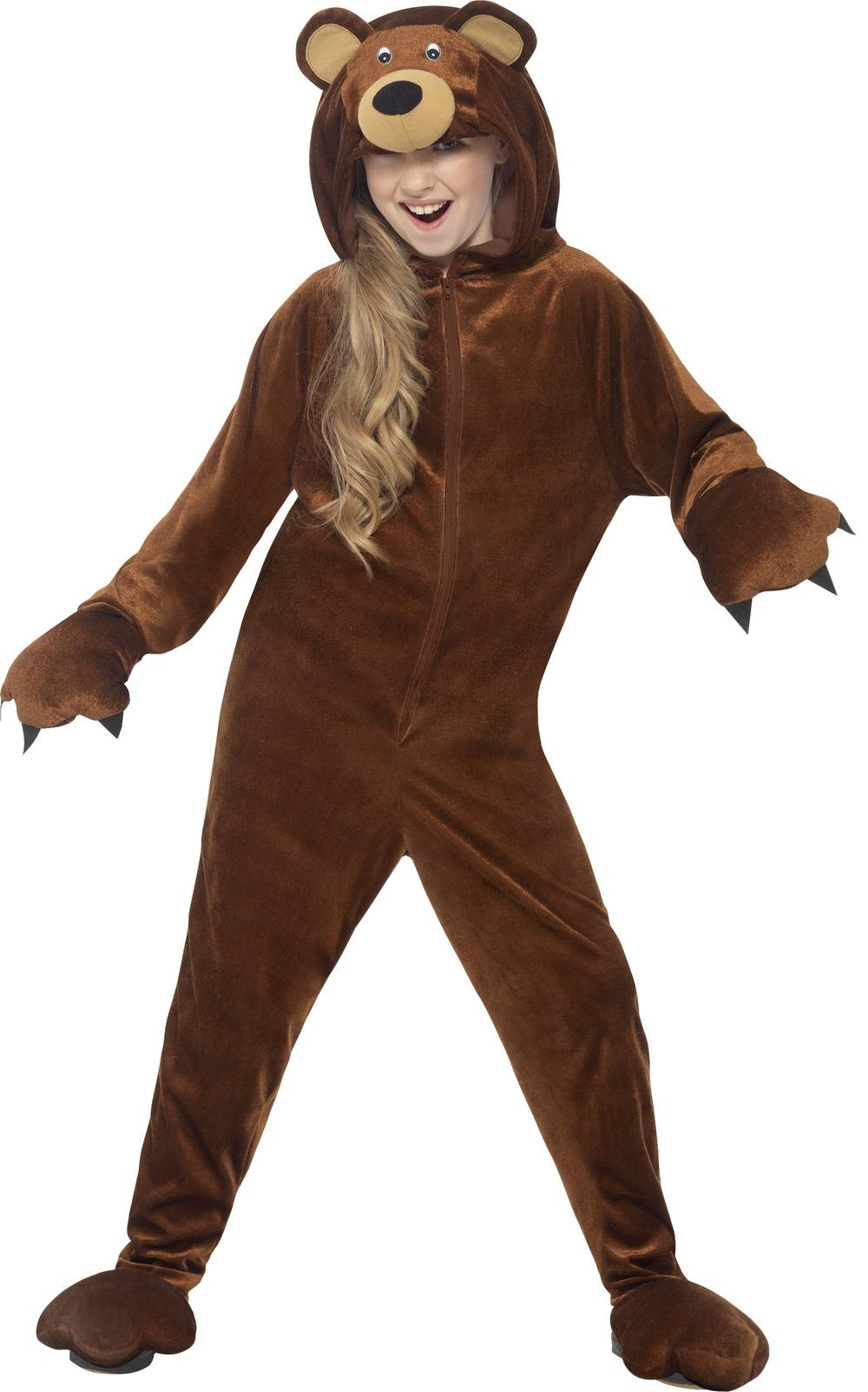 Teddy Bear Kids Fancy Dress Animal World Book Week Day Girls Boys Childs Costume