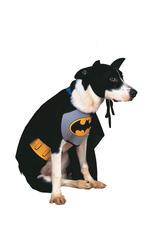 Batman Dog Fancy Dress Pet Animal Puppy Fun Superhero Movie Costume Outfit New