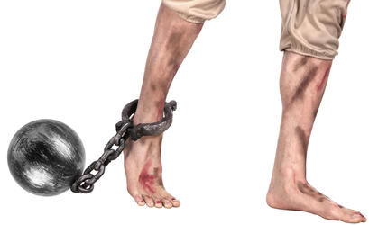 Ball and Chain Costume Accessory