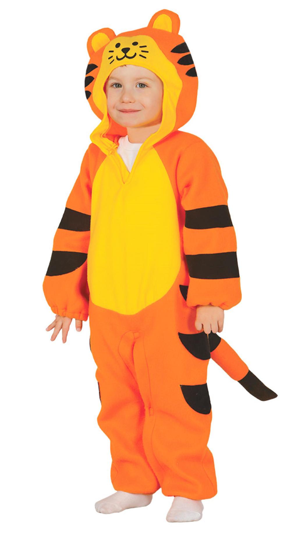 Tiger Kids Fancy Dress Zoo Safari Animal Toddlers Boys Girls Book Day Costume