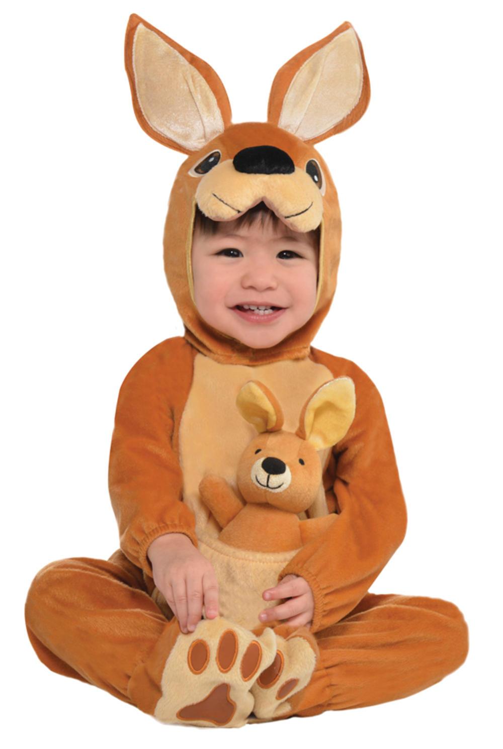 Kangaroo Baby Boys Fancy Dress Animal Zoo Safari Toddler Infants Costume Outfit