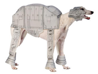 AT-AT Dog Fancy Dress Star Wars All Terrain Armored Transport Puppy Pet Costume