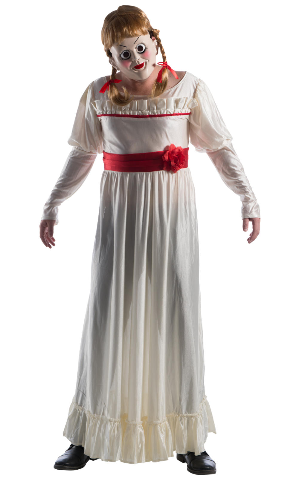 Annabelle The Conjuring Adults Fancy Dress Movie Mens Ladies Halloween Costume