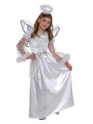 Christmas Angel Girls Fancy Dress Festive Nativity Play Kids Childrens Costume