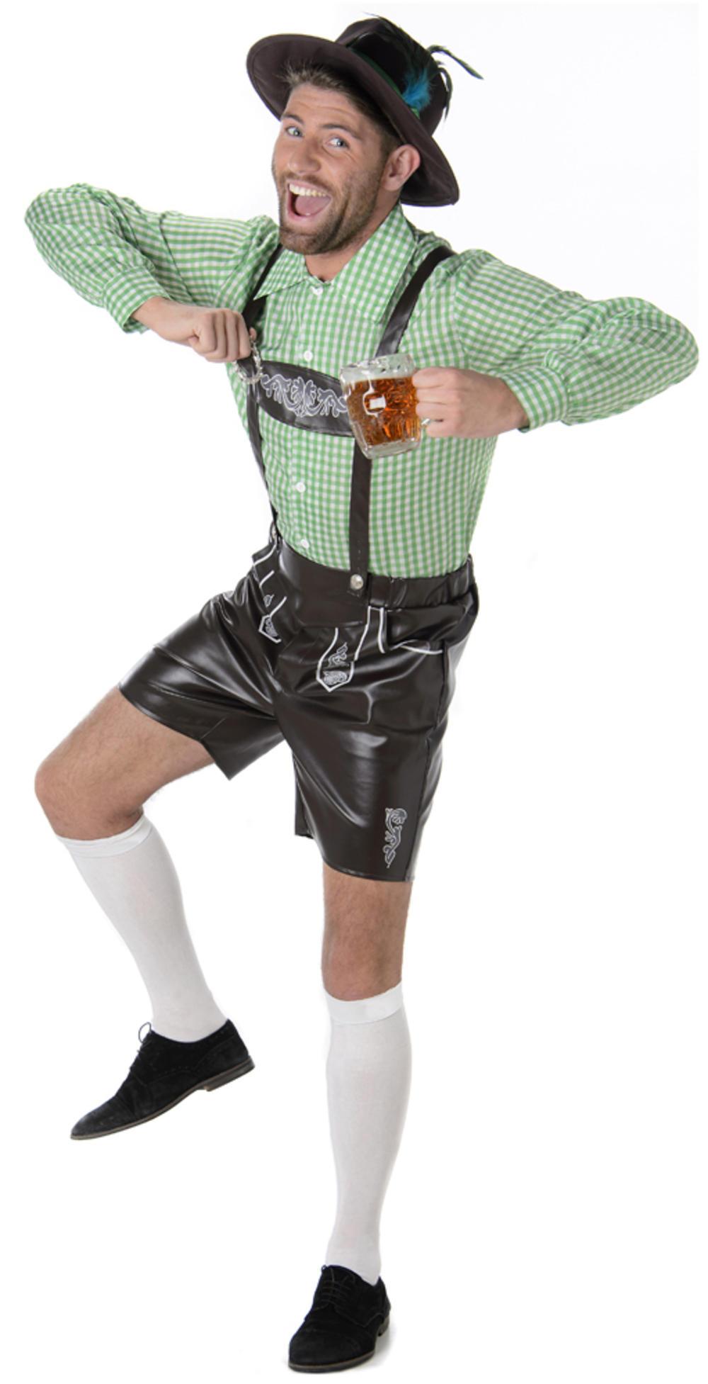 Alpine Man Mens Fancy Dress Bavarian German Beer Fest Oktoberfest Adults Costume