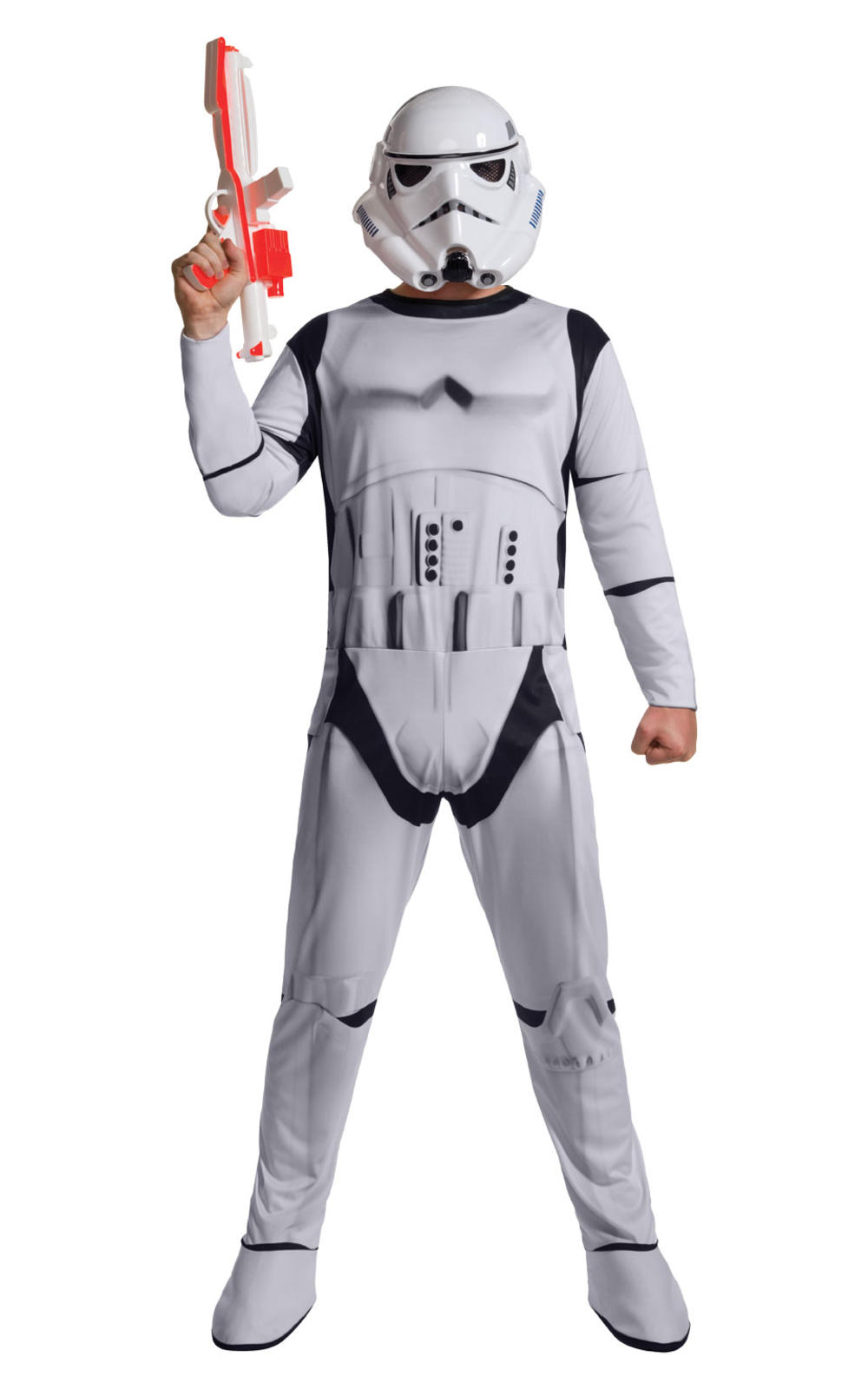 Stormtrooper Mens Fancy Dress Star Wars Movie Guard Adults Costume Outfit + Mask