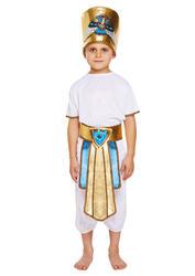 Egyptian Boys Fancy Dress King Pharaoh Historical Book Day Childrens Kid Costume