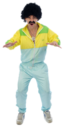 80s Shellsuit Scouser Costume