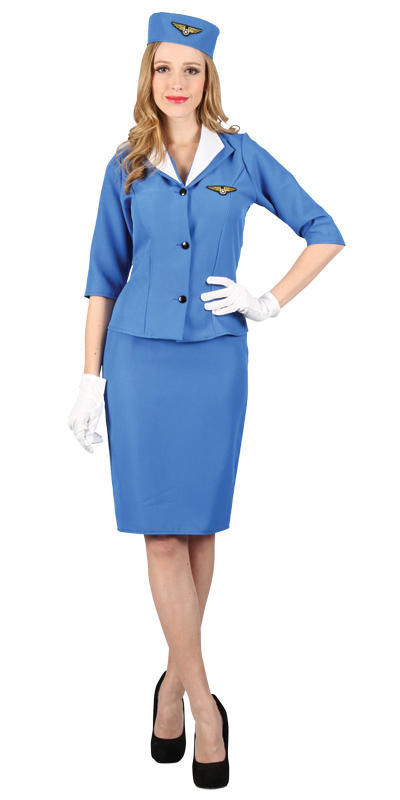 Pan-Am Hostess Costume