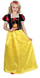 Girls Deluxe Snow Princess Costume