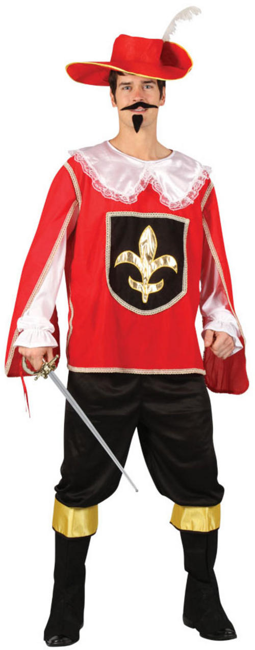 Red Musketeer Costume