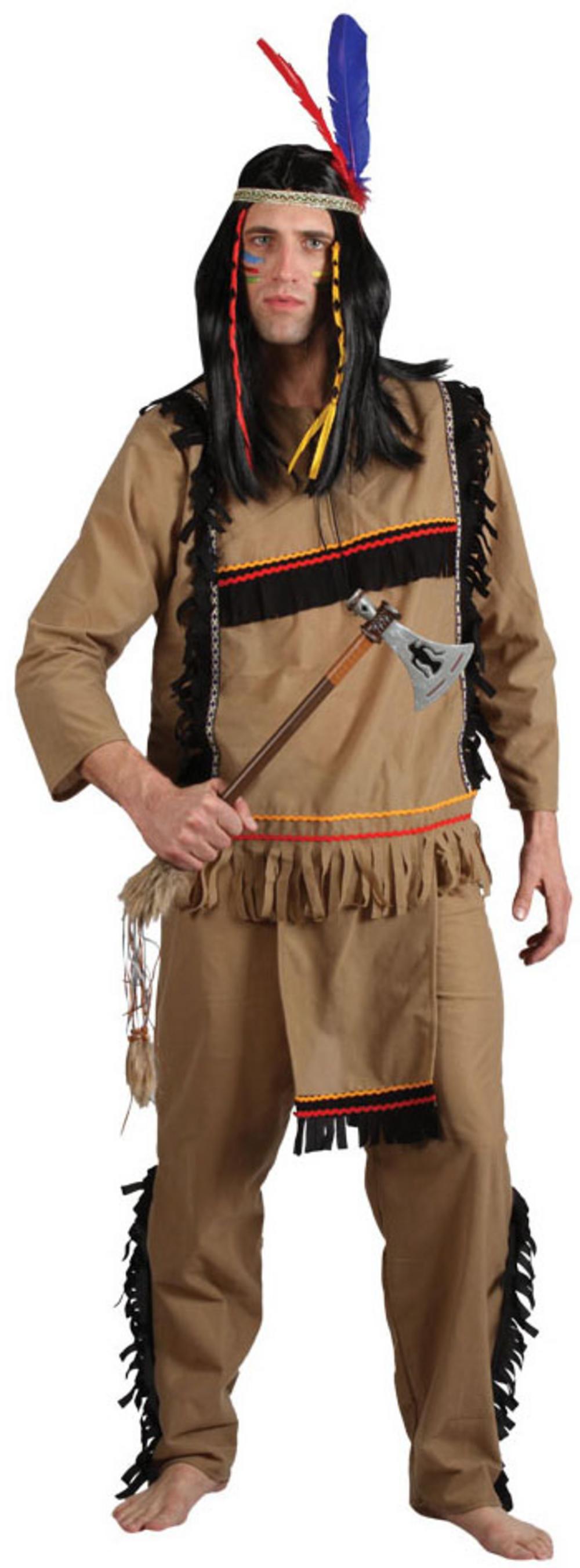Brave Indian Warrior Costume