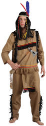 Brave Indian Warrior Costume