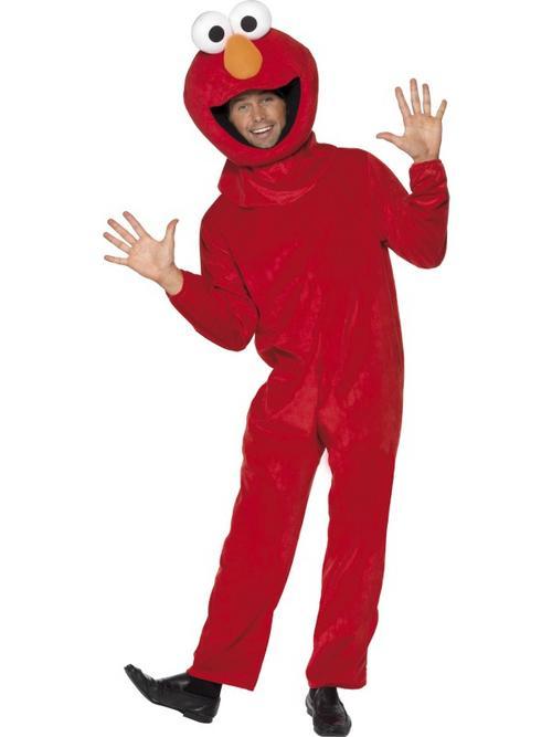 Sesame Street Elmo Mens Costume