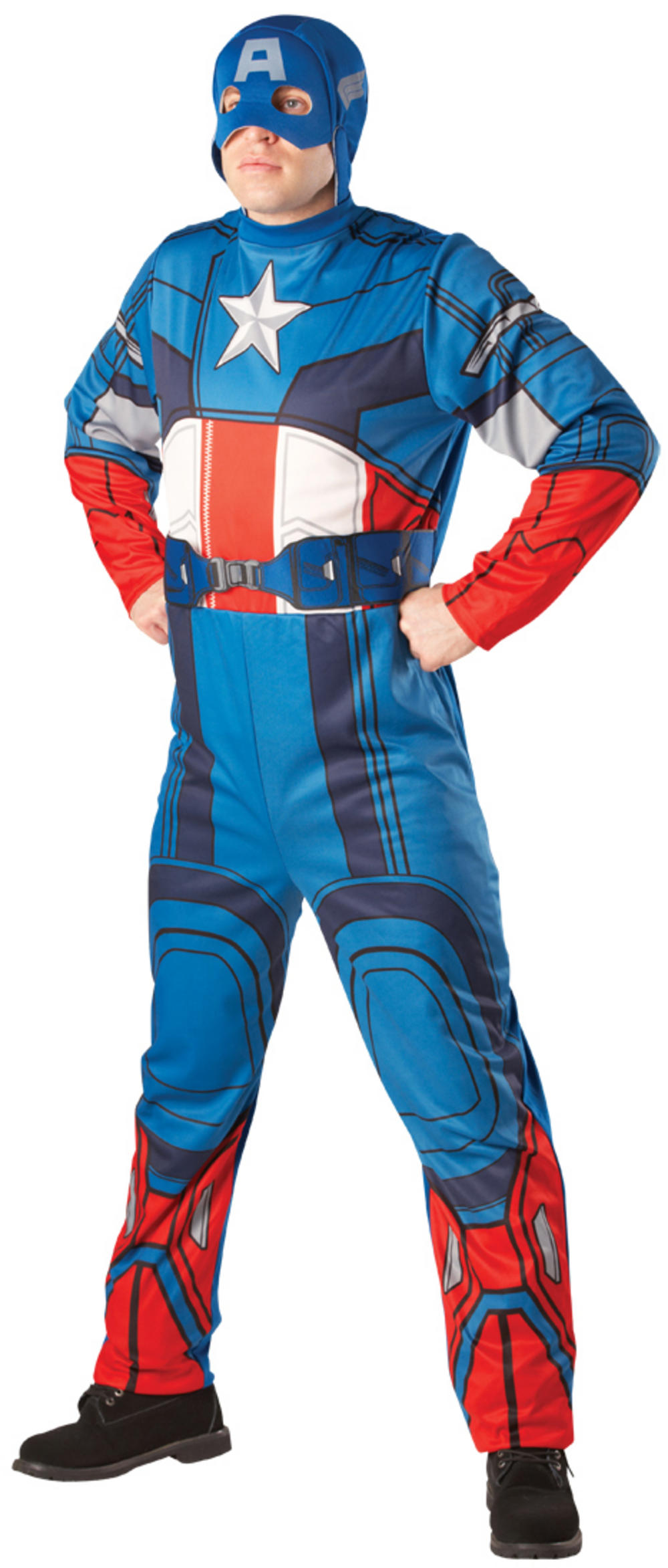 Licensed Classic Captain America Costume