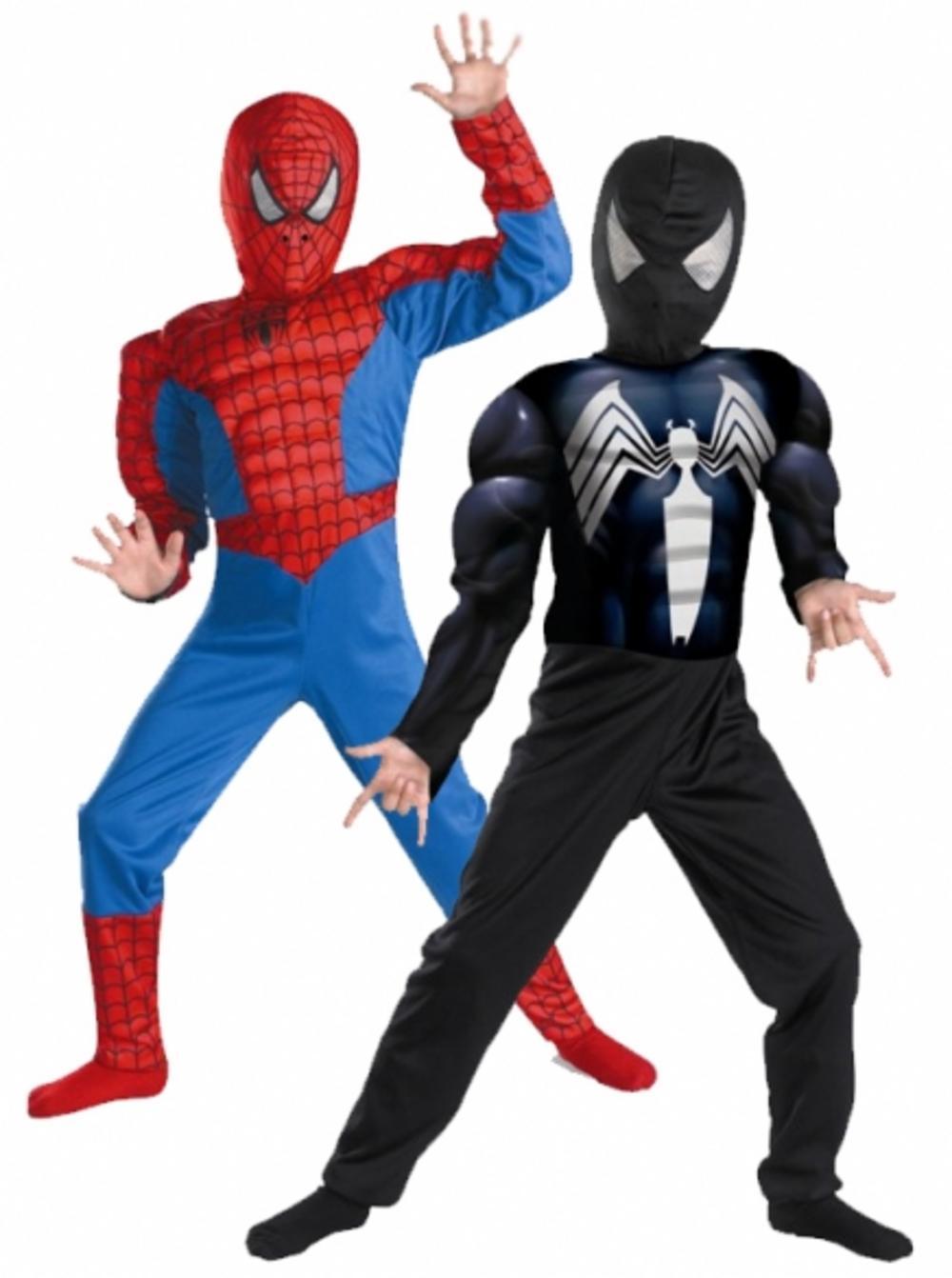 Boys Deluxe Reversible Spiderman/Venom Costume