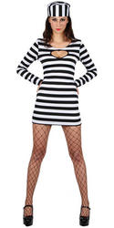 Cell Block Sweetheart Prisoner Costume