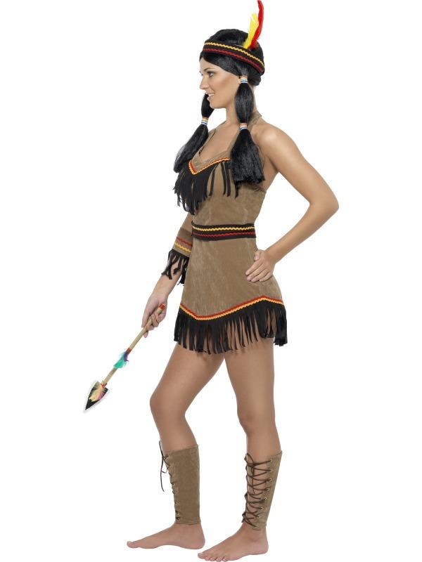 Girls Indian Native Costume American Princess Pocahontas Western Book Week Dress Innovatis