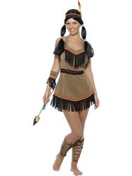 Western Red Indian Costume