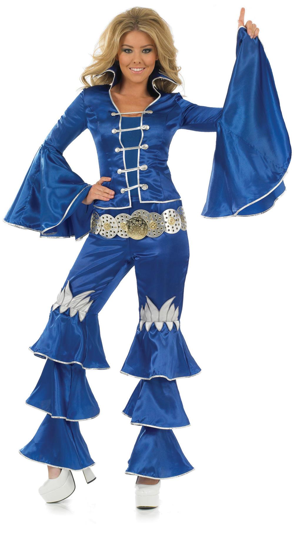 Blue Dancing Queen Costume