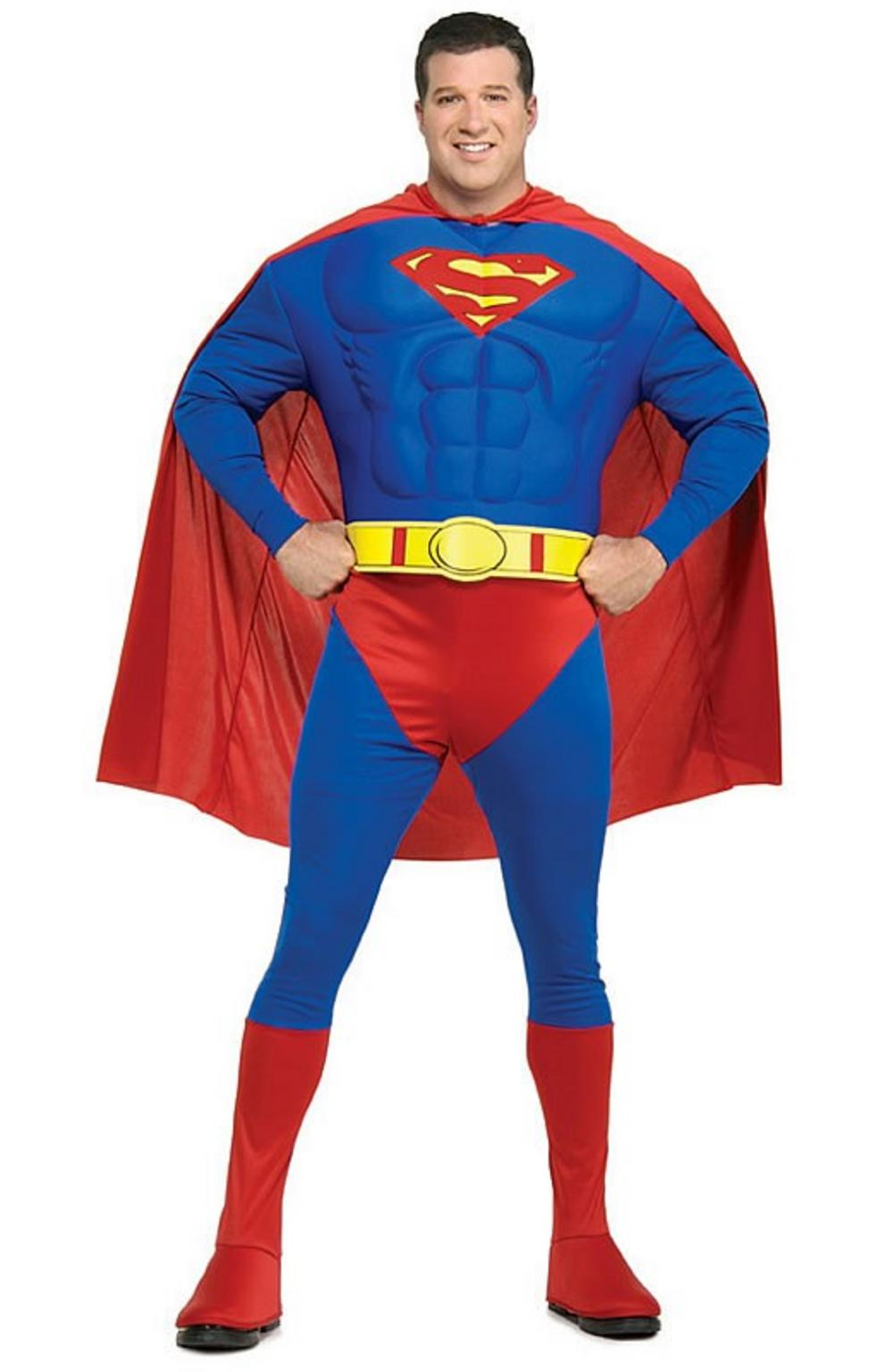 Deluxe Superman Muscle Chest Costume (XL)