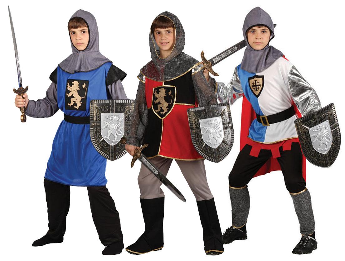 Sentinel Boys Medieval Knight Fancy Dress St Georges King Arthur Book Week Kids Costume  sc 1 st  eBay & Boys Medieval Knight Fancy Dress St Georges King Arthur Book Week ...