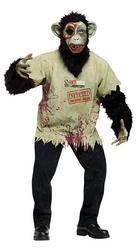 Zombie Chimp Halloween Costume