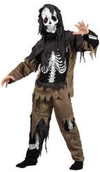 Kids Rotten Skeleton Zombie Costume