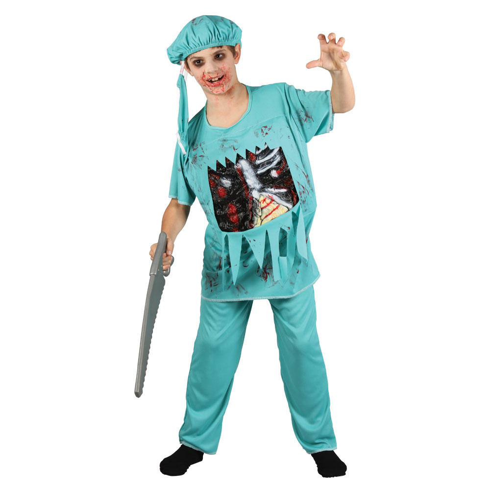 kids zombie doctor halloween costume - Kids Doctor Halloween Costume