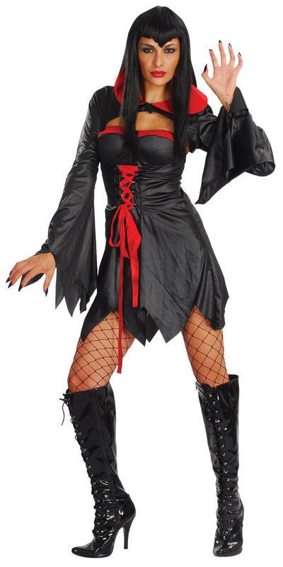 Ladies? Countess Vampira Halloween Costume
