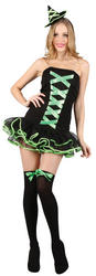 Green Bewitched Babe Halloween Costume