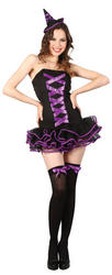 Purple Bewitched Babe Halloween Costume